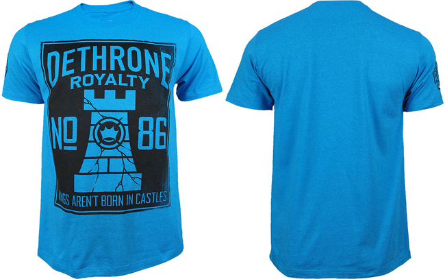 dethrone-cracked-castle-shirt-blue