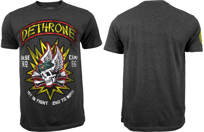 dethrone-second-to-none-shirt