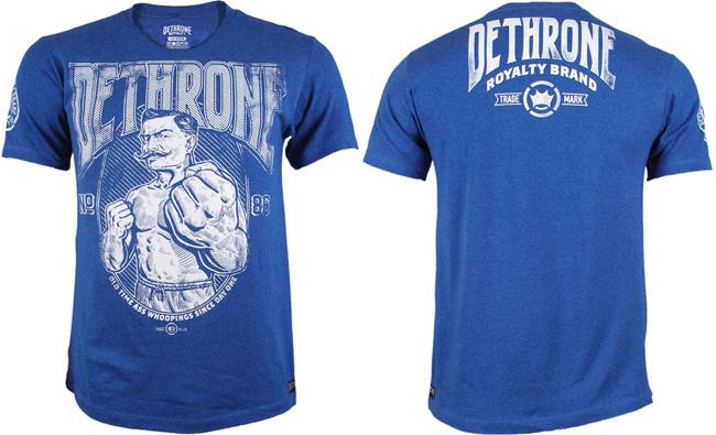 dethrone-since-day-one-shirt-blue
