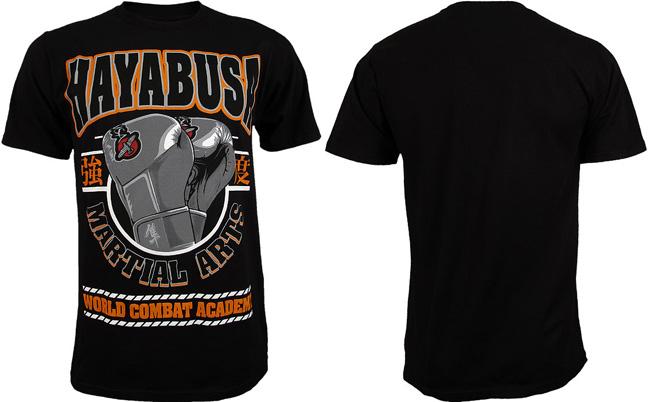 hayabusa-academy-shirt-black