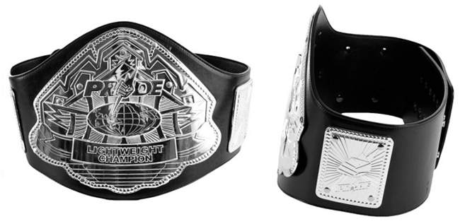 pride-lightweight-champion-belt