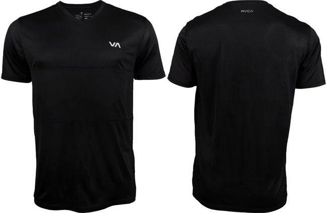 rvca-arid-shirt-black