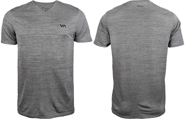rvca-arid-shirt-grey