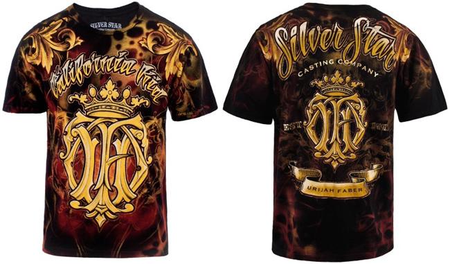 silver-star-urijah-faber-shirt