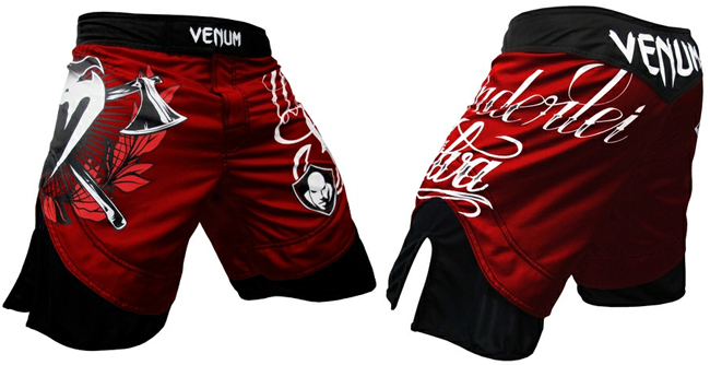 venum-wanderlei-silva-fight-shorts-red