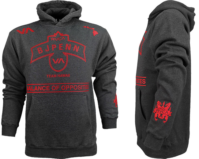 RVCA-bj-penn-hoodie-charcoal
