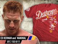 dethrone-ed-herman-shirt