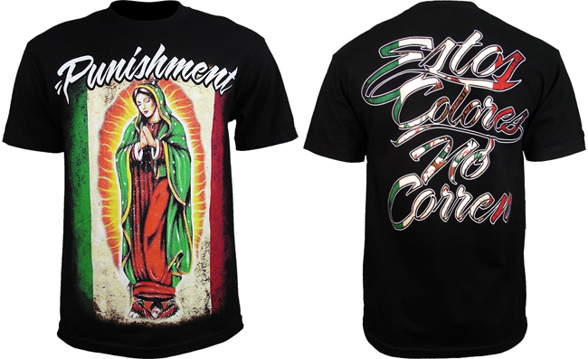 punishment-mexican-pride-shirt