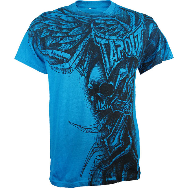 tapout-stone-n-roses-shirt-blue