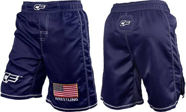 cage-fighter-usa-fight-shorts-blue