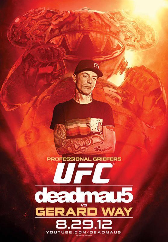 deadmau5-UFC-video