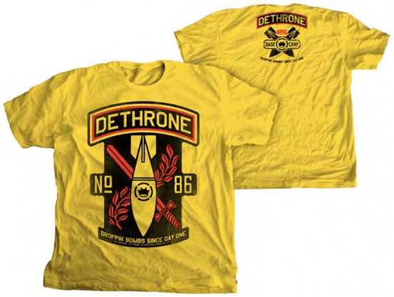 dethrone-base-camp-bombs-shirt