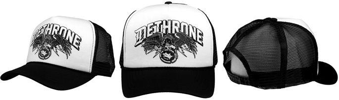 dethrone-dark-eagle-trucker-hat