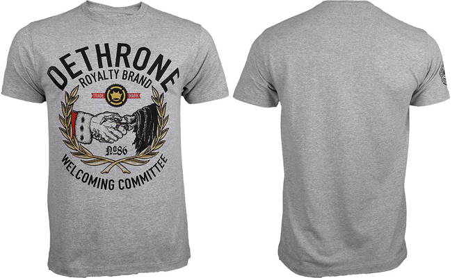 dethrone-welcome-shirt