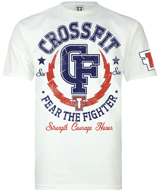 fear-the-fighter-cross-fit-shirt-white