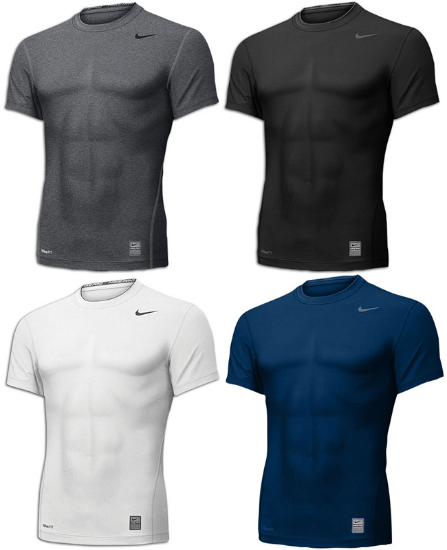 nike pro combat compression shirts