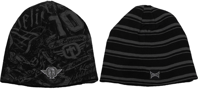 tapout-burned-beanie-black