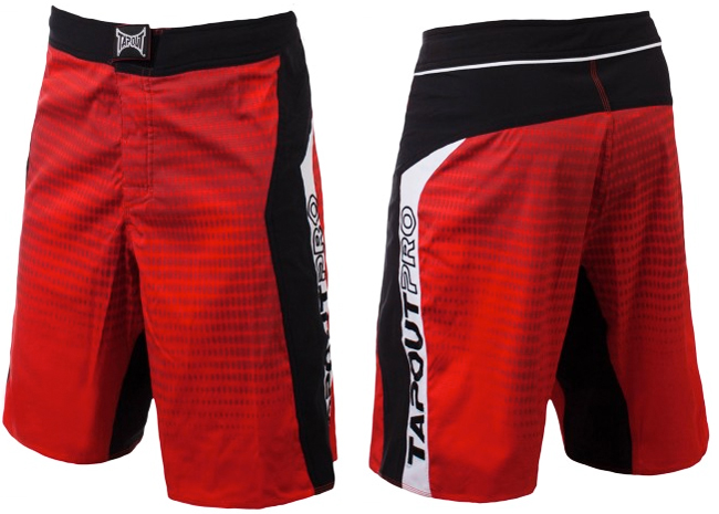 tapout-flex-fight-shorts-red