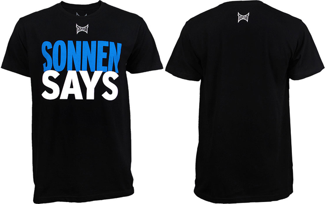 tapout-sonnen-says-t-shirt
