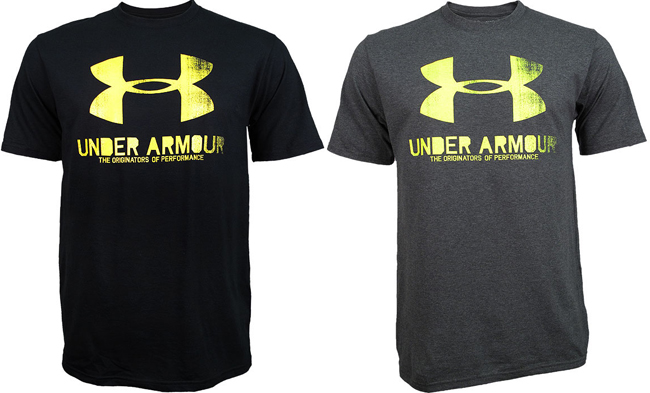 Under armour sportstyle logo shirt for Under armour i will shirt