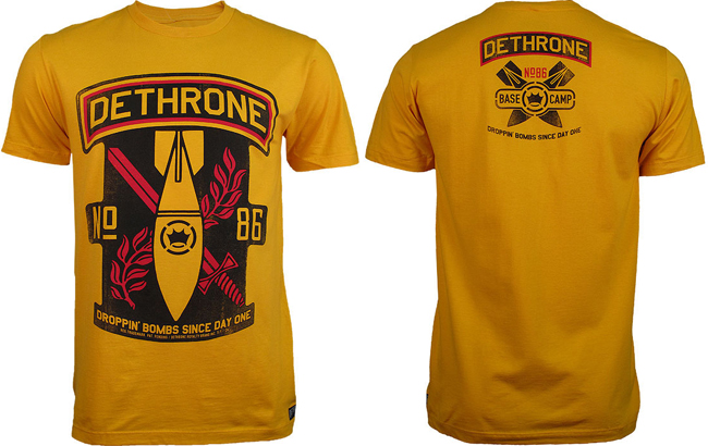 dethrone-bombs-shirt-yellow