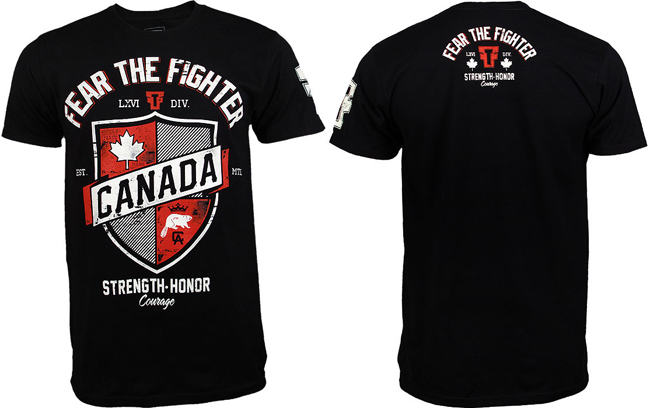 fear-the-fighter-canada-shirt