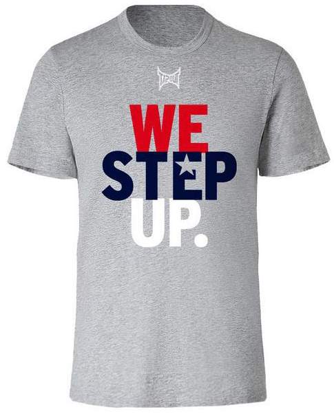 tapout-we-step-up-shirt