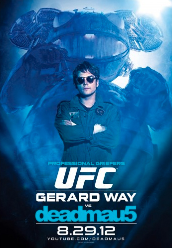 ufc-deadmau5-gerard-way-poster