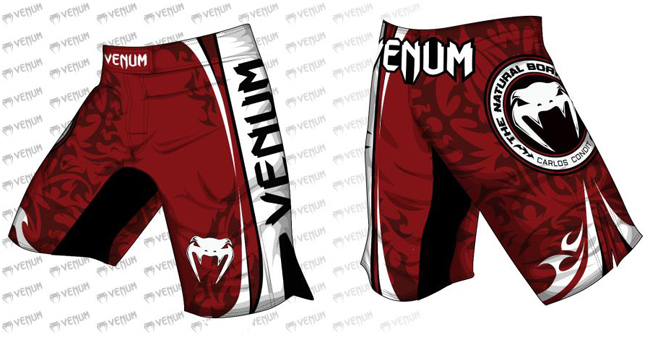 venum-carlos-condit-fight-shorts-red