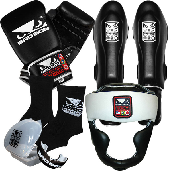 BAD BOY Muay Thai Fight Gear Bundle   FighterXFashion.com