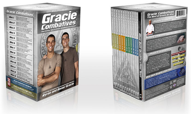 Gracie Academy Jiu-Jitsu Training DVD Packages
