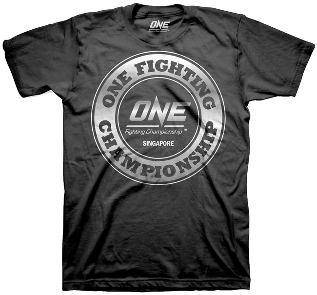 one fighting championship t shirt. Black Bedroom Furniture Sets. Home Design Ideas
