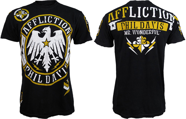 phil davis ufc 153 walkout shirt