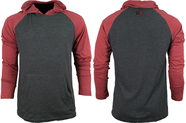 rvca-castro-hoodie-red