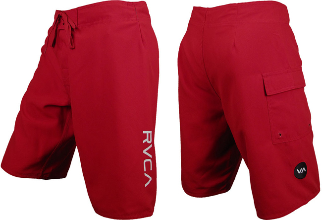 rvca-western-II-fight-shorts-red