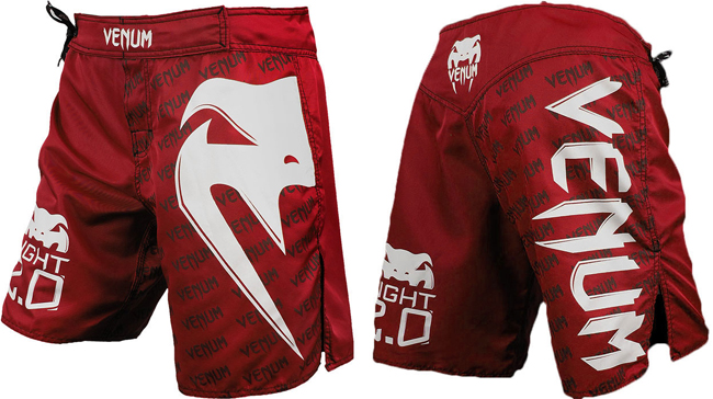 venum-light-2.0-fight-shorts-red