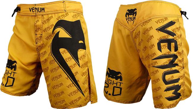 venum-light-2.0-fight-shorts-yellow