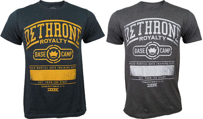 dethrone-base-camp-training-shirt