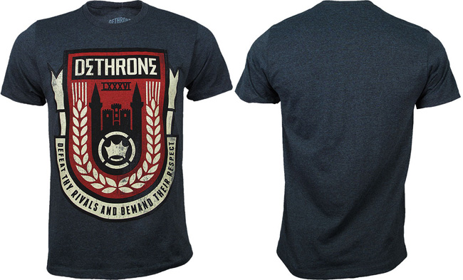 dethrone-castle-badge-shirt