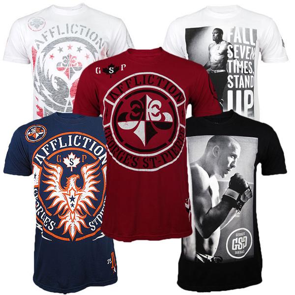 gsp-ufc-154-t-shirts