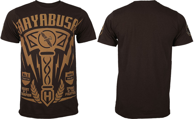 hayabusa-hammer-brown-shirt