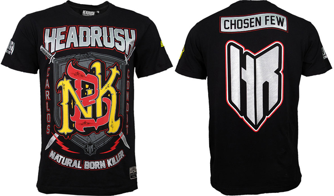 headrush-carlos-condit-ufc-154-shirt