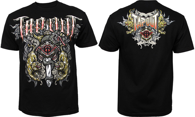 tapout-tiger-snakes-shirt-black