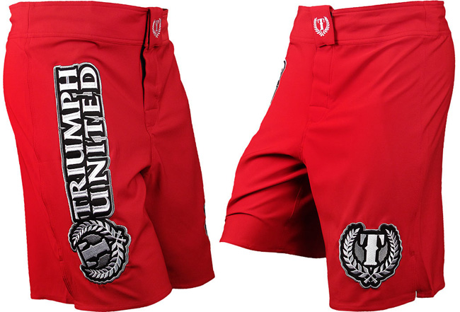 triumph-united-sabre-shorts-red