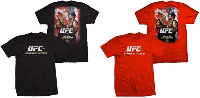 ufc-154-event-shirt