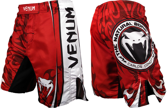venum-carlos-condit-ufc-154-fight-shorts-red