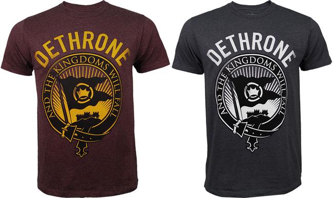 dethrone-kos-kingdom-shirt