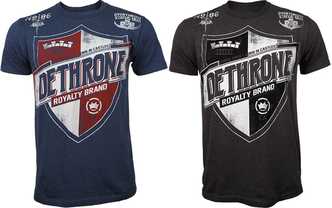 dethrone-team-shield-shirt