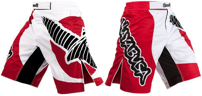 hayabusa-chikara-fight-shorts-red