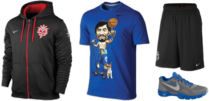 What 39 s good in fight wear december 24 2012 for Manny pacquiao nike t shirt